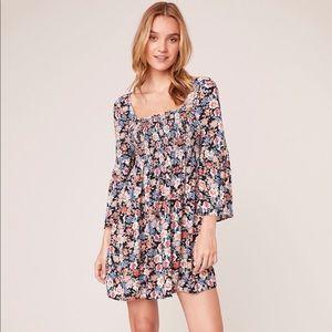 BB Dakota Floral Mini Dress